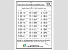 Year 6 Math Worksheets Worksheets for all Download and