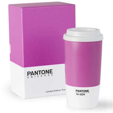 color of pantone radiant orchid thermo cup gift box