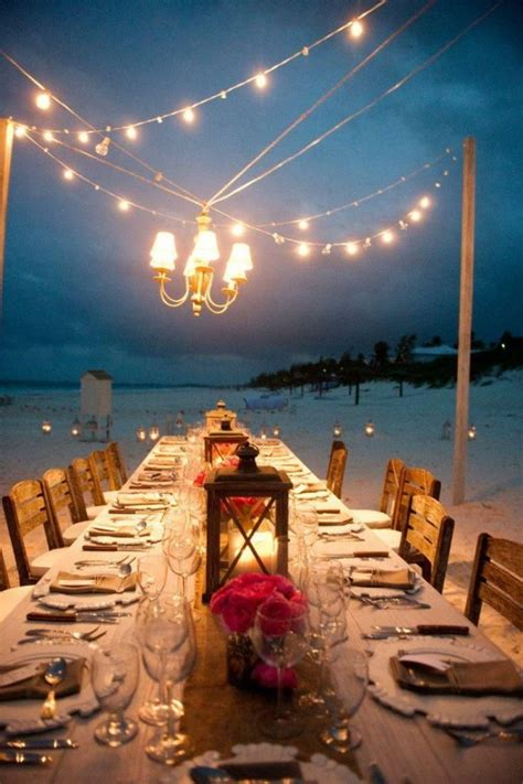 33 breathtaking beach waterfront wedding reception ideas
