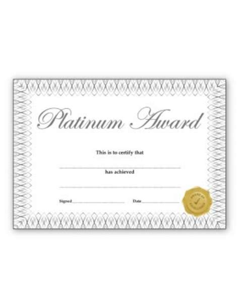 Maybe you would like to learn more about one of these? Platinum Award' certificate   School Merit Stickers