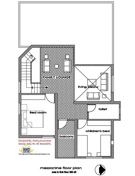 Modern Home Design  1809 Sq Ft  Kerala Home Design And