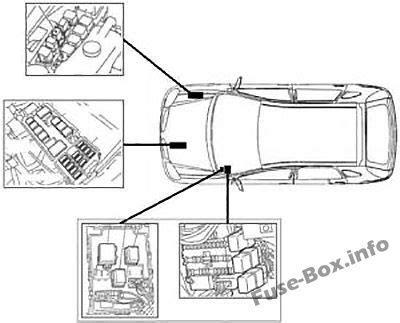 fuse box diagram gt nissan almera ii n16 2000 2006