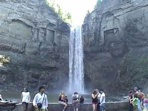 Map of Taughannock Falls State Park