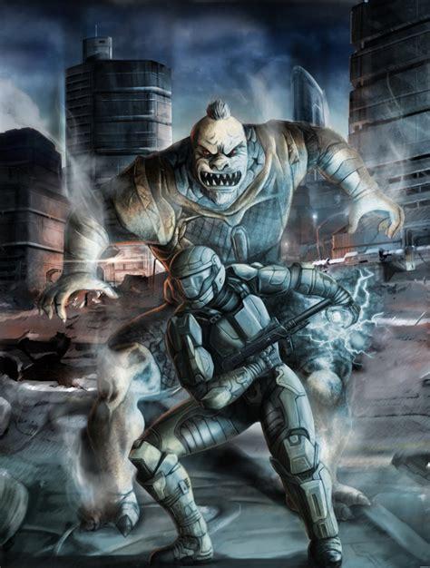 Halo 3 Odst Fan Art By Geocross On Deviantart