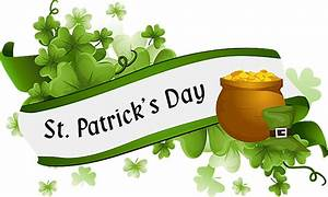 Background clipart st patrick's day - Pencil and in color ...