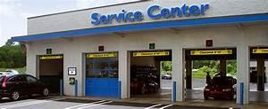 Service Drive Lane Signs