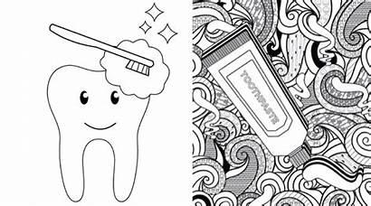 Coloring Pages Fun Dental Printable Waiting Printables