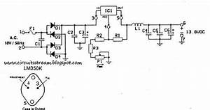 Build A 12 14 Volt 3a Anti Rf Filtered Power Supply Wiring Diagram Schematic