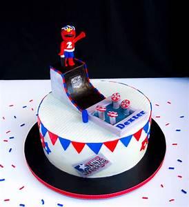 Elmo Ninja Warrior Birthday Cake - CakeCentral com
