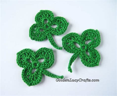 Crochet Shamrock, Free Crochet Pattern