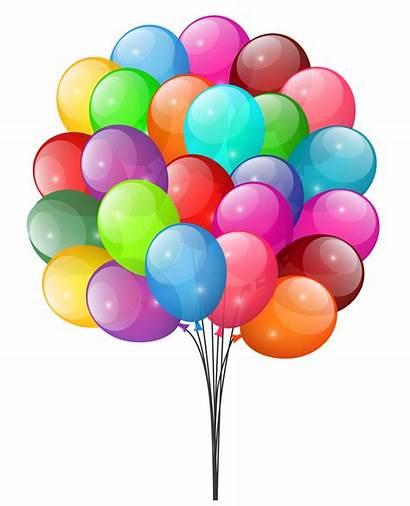 Balloons Clipart Ballon Cliparts Transparent Yopriceville Clip