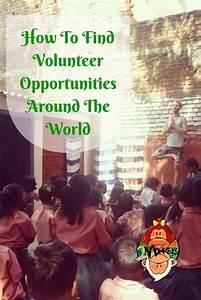 17 Best ideas about Volunteering Opportunities on ...