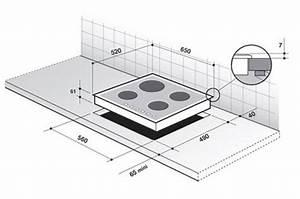 Dimension Plaque Induction : plaque induction de dietrich dti1116v 3602990 darty ~ Nature-et-papiers.com Idées de Décoration
