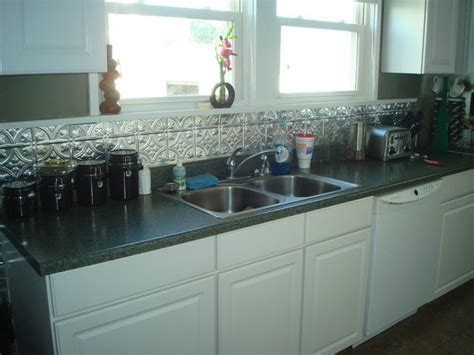 backsplash white kitchen metal backsplash with white cabinets projects