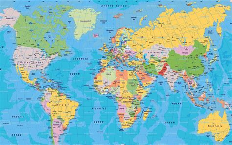 World-map-11 10.11.2014 Top Wallpapers Best Wallpapers Hd