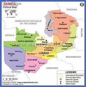 Zambia Map - ToursMaps.com