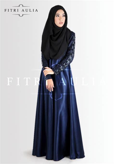 model baju gamis pesta cocok  muslimah remaja