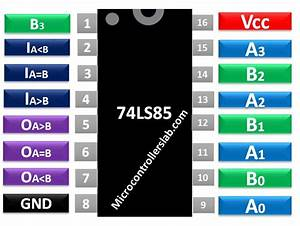 74ls85 Comparator Pinout  Examples  Applications Datasheet