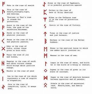 Irish Celtic Symbols And Meanings Chart Runes And Meanings Rune Symbols And Meanings Celtic