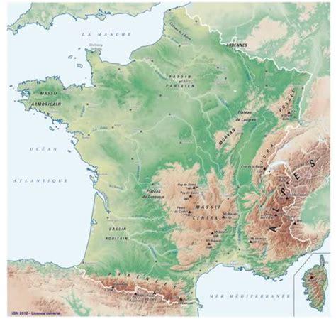 Carte Interactive Des Montagnes De by La