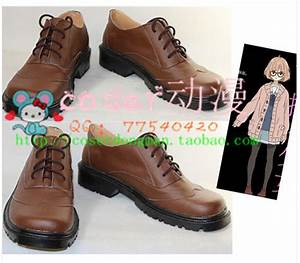 Kyokai no kanata cosplay shoes lolita japanese school ...