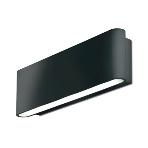 ip65 mains hid wall light wall lighting au wal511blk