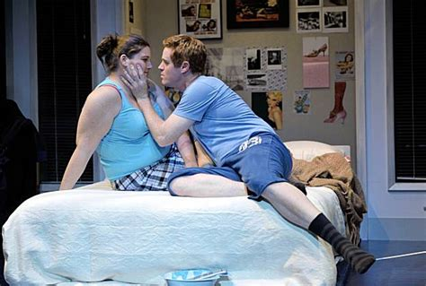 theater review  lot  love  fat pig sfgate
