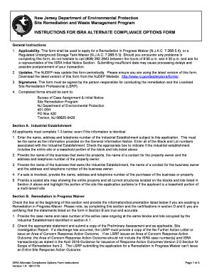 editable njdep srp forms fill print download