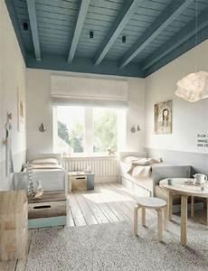 les 25 meilleures idees de la categorie poutres au plafond With plafond peint en couleur