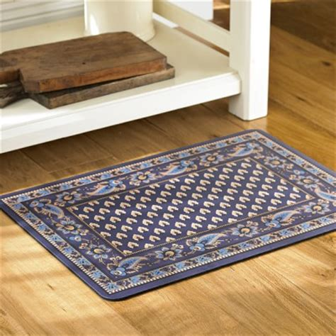kitchen gel floor mats marseille cushioned kitchen mats navy williams sonoma 4906
