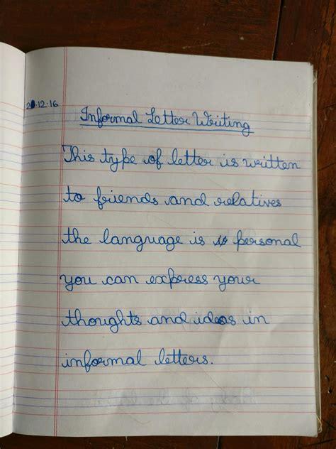 englishmania class  informal letter