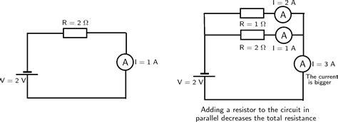 circuit diagram resistance parallel circuit and