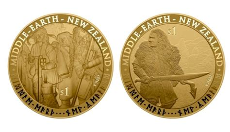 New Zealand Releasing Hobbit Stamps And Solid Gold Coins