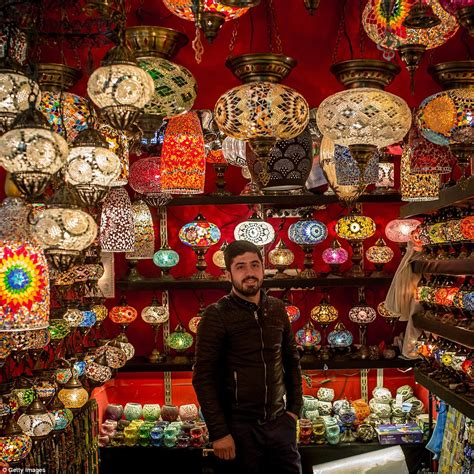 Inside Istanbul S Grand Bazaar In Turkey Which Has 91m