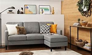 The differences in cheap sofas vs discount sofas for Small sectional sofa overstock
