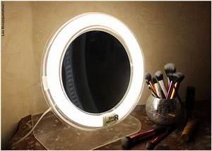 Miroir Lumineux Maquillage : blog star miroir le miroir grossissant lumineux pour myopes ~ Teatrodelosmanantiales.com Idées de Décoration