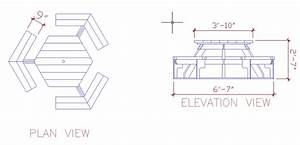 Download Picnic Table Autocad Drawing Plans Free