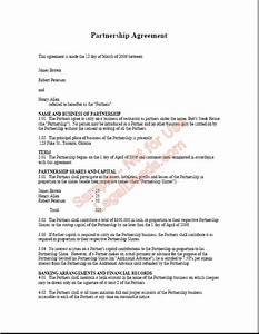 partnership agreement template non compete agreement With company partnership agreement template