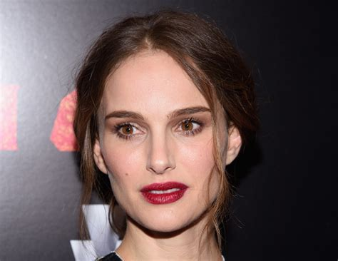 Today Freaky Natalie Portman Has Year Old Male