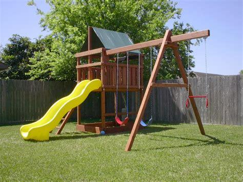backyard playset plans playset kits and swingset parts for diy 1448
