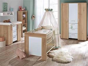 Babyzimmer 2 Teilig : babyzimmer set 2 teilig kinderbett wickelkommode eiche s gerau michi ~ Frokenaadalensverden.com Haus und Dekorationen