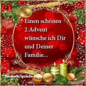 Grüße Zum 2 Advent Lustig : sch nen 2 advent bilder lustig bilder19 ~ Haus.voiturepedia.club Haus und Dekorationen