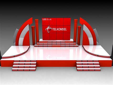 desain dekorasi panggung