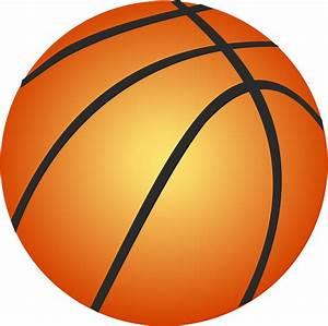 Half Basketball Outline - ClipArt Best