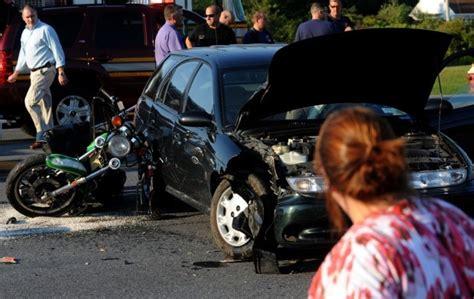 Man Badly Injured Following Car-motorcycle Crash
