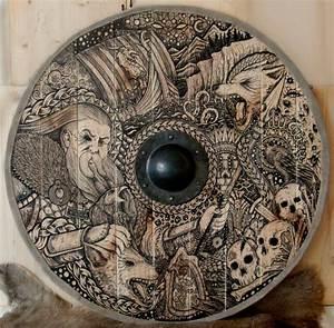 Viking Shield Odin by ZawArt on DeviantArt