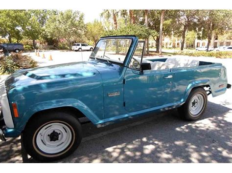 commando jeep 1973 jeep jeepster commando for sale classiccars com