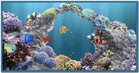 Living Marine Aquarium 2 Animated Wallpaper - aquatic screensaver free crawler 3d marine aquarium