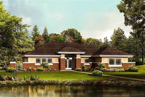 Dynamic Contemporary Home Plan  57267ha Architectural