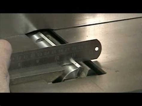 woodworking setting jointer knives youtube